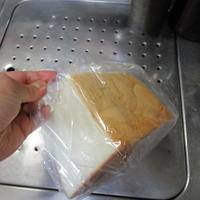 炭水化物の代表格 食パン! スープを添えて 更に美味しく食べるのだ!!