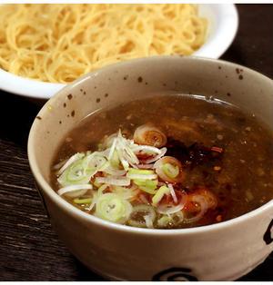 豚と高菜のつけ麺
