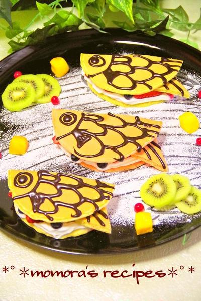 子どもの日ホットケーキミックスで簡単♪野菜のカラフル鯉のぼりパンケーキ♡子共の日のお菓子にも