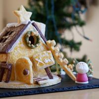 お菓子の家♪建てるの楽しい!