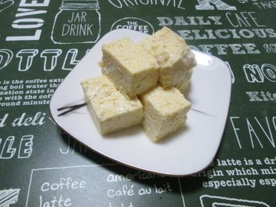 レンジで簡単!卵蒸し豆腐