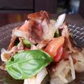 トースターで簡単!牛肉入り、ごちそうサラダ