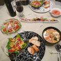 シーフード・クリームシチュー&ストロベリーサラダ by yukariさん