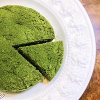 【低糖質ギルトフリーレシピ】レンジで4分!ダイエット抹茶おからケーキの作り方!