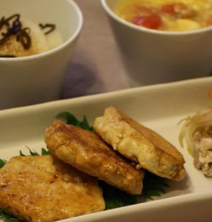 〈レシピ有り〉ふんわりマグロハンバーグの夕ご飯*加熱用のマグロ切り身を使い回し