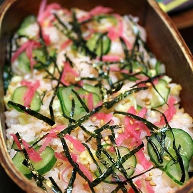 鮭と卵の混ぜごはん・弁当