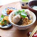 冬支度☆コロコロ里芋ときのこのこっくり炊き込みご飯