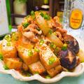 【レシピ】豚バラ肉と厚揚げの!なんちゃって肉豆腐!