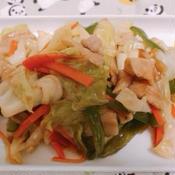 豚バラ肉と野菜の花椒炒め