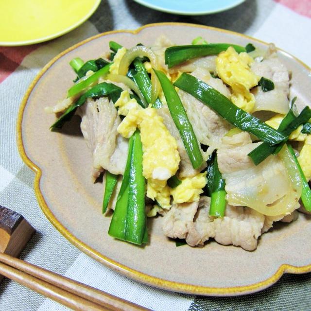 ●レシピ●白ご飯がほしくなる!豚バラ&にらのオイスターソース炒め
