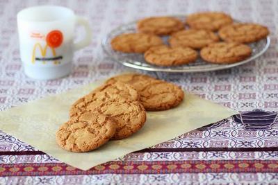 大人味しょうがのクッキー*ジンジャースナップ