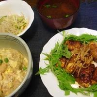 肉巻き豆腐&宮殿焼き肉のタレが当たりました♪