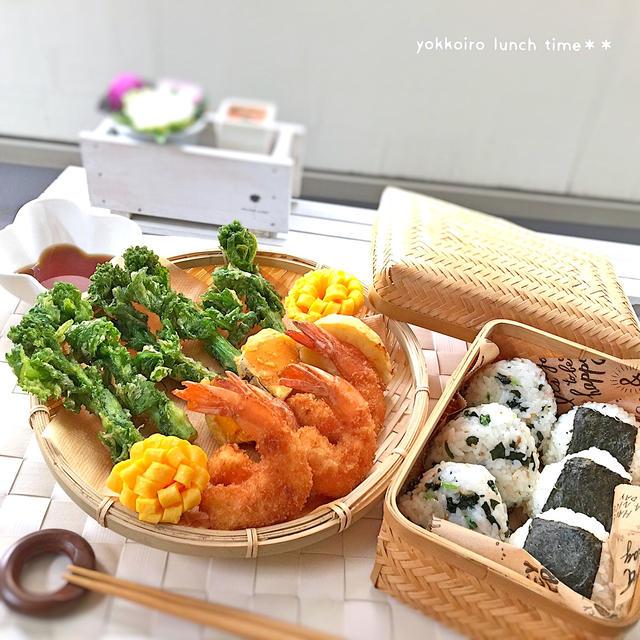 菜の花*天ぷら