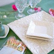 ナチュラルキッチンの🌸お洒落な春色テーブルウェア