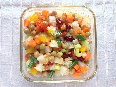 作り置きにも!リケンのノンオイル セレクティ にんじん de 色々野菜のコロコロマリネ