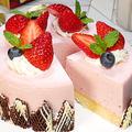 食べきりサイズ【いちごのレアチーズケーキ】 by HiroMaruさん