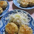 「たけのこと椎茸の鶏ハンバーグ~あっさり和風仕上げ~」 by ぴよさん