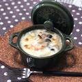 【レシピ】オリーブオイルで作るエビグラタン