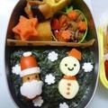 12月6日 ミニサンタさんのお弁当 by カオリさん