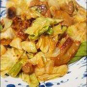 【春キャベツレシピ】簡単♪キャベツとこてっちゃんの炒め物。
