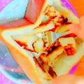 【飯テロ】ハーゲンダッツで☆ブリュレ風アップルカスタードパン