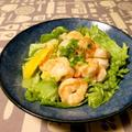 海老とエリンギの味噌マヨ炒め