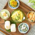 沖縄風プレート~ゴーヤー卵焼き