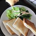 チーズホットサンド