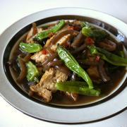 【動画レシピ】厚揚げのこんにゃくとしし唐のピリ辛煮♪