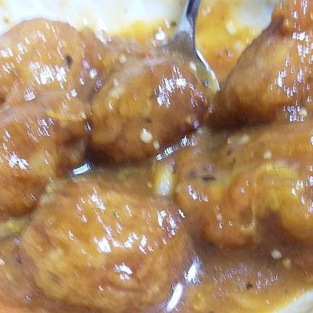 玉ねぎボール 和風トマト煮 (キッチン ラボ)