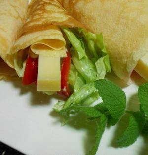 コンテチーズのクレープ