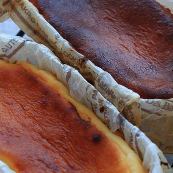 【レシピ】ブレンダーでさくっとバスクチーズケーキ♪