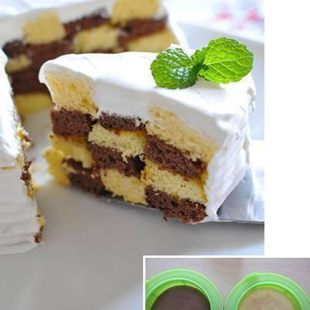 ルクエで簡単!オセロケーキ