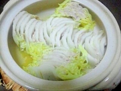 夏は冷やし豚白菜ミルフィーユ