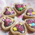 バレンタインにいかが?<ペパーミントでチョコミントタルト> by はらぺこ準Jun(はーい♪にゃん太のママ改め)さん