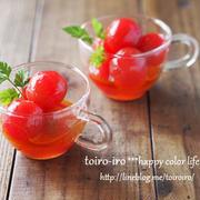 まるでフルーツ♥プチトマトのハニーマリネ♪