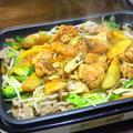 タッカルビと、肉野菜炒め