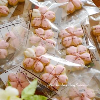桜のアイシングクッキー作り。&懐かしのロンドンへ①