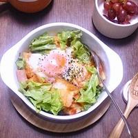 包丁いらずでササっとトマトのなんちゃってパン粥♪ #デルモンテ #トマトソース