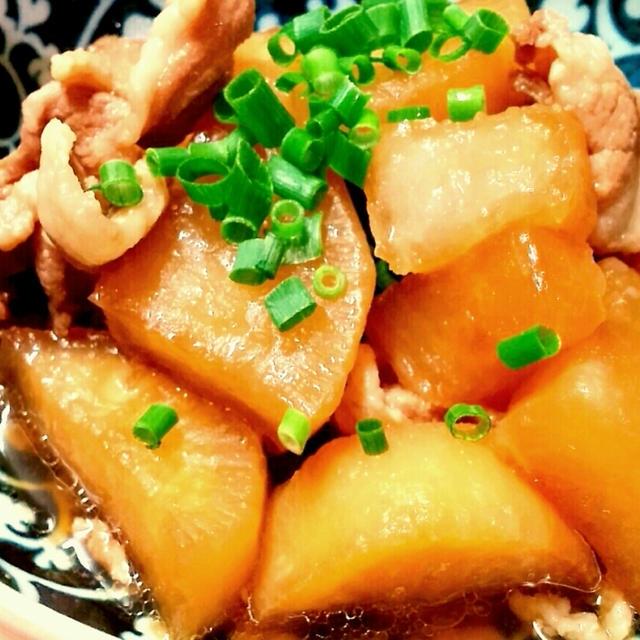 *【レシピ】豚こま大根の甘辛煮~明日のために朝から頑張った♪