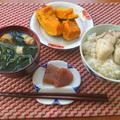 常備菜で一汁一菜と、くるみタレを作ってみた昼下がり