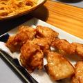 大さじ3で簡単♪鶏から揚げときんぴら鶏むね肉×じゃがいも×にんじん