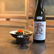 ほうれん草とキノコの簡単おつまみとおいしい日本酒