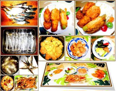 ヒレ串カツと好物の作り立て作り置きの総菜で