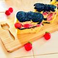 ホットケーキミックスで作る♪苺とオレオのインビジブル♡ by Lau Ainaさん