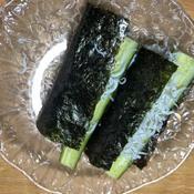 しらすときゅうりの手巻き寿司