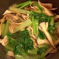 【簡単*お弁当】スピードメニュー♪小松菜と舞茸のおひたし