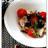 「丹波の黒豆」鮭の黒豆マリネ