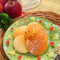 おやつにホットケーキ♡りんご&ジャムトッピング♪