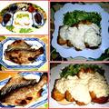 チキン南蛮にツボ鯛の干物